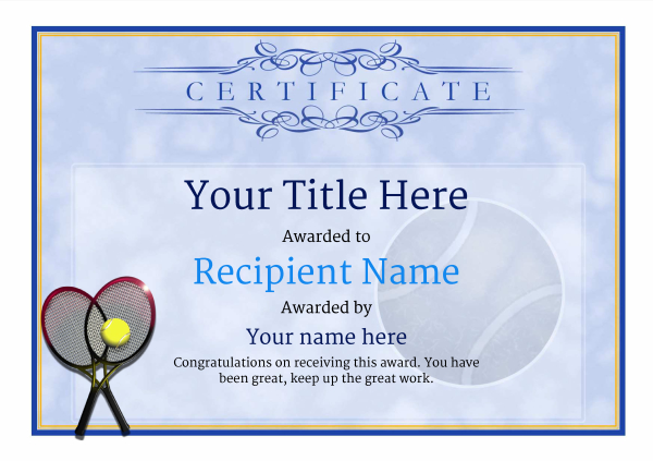 certificate-template-tennis-classic-1btrn Image