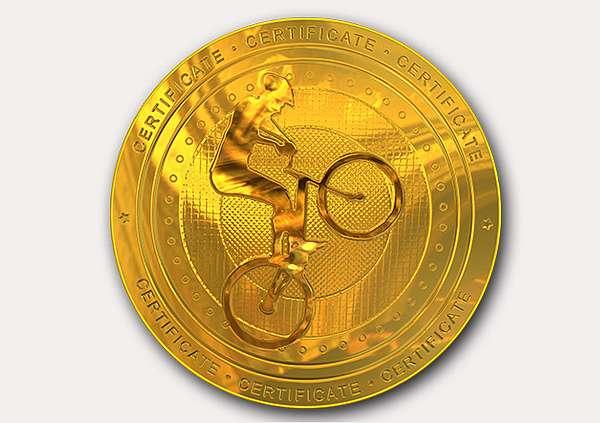 certificate-template-trail-biking-classic-1-grey-btmg Image