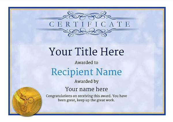certificate-template-trail-biking-classic-1btmg Image