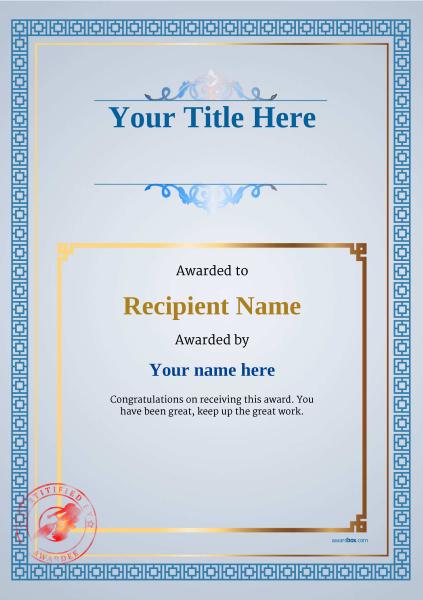 certificate-template-velodrome-classic-5bvsr Image