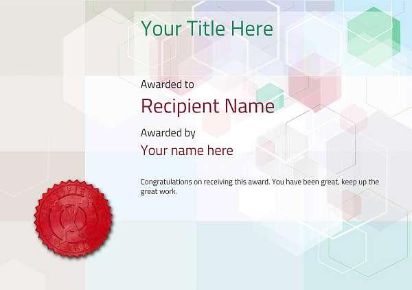 certificate-template-weightlifting-modern-5dwsr Image