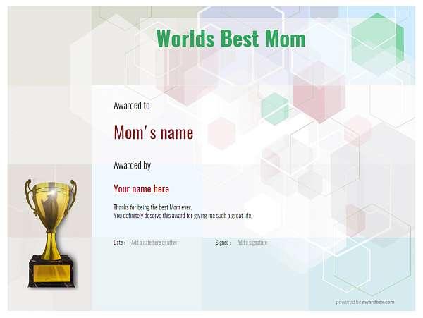 modern5-default_wbestmum-trophy Image