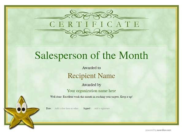 vintage1-green_salesperson-stareyes Image