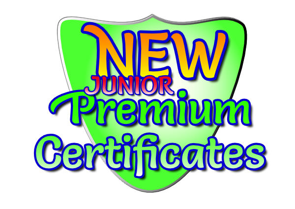 new premium certificate link blank Image