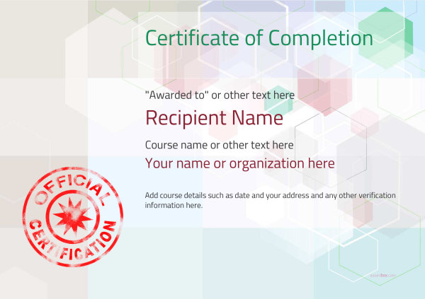 certificate-of-completion-template-award-modern-style-5-default-stamp Image