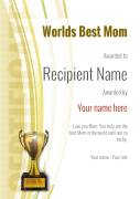 modern1-yellow_wbestmum-trophy Image