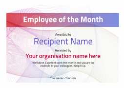 modern3 default_employee blanks image - Certificate Of Employee Of The Month Template