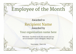 vintage2 default_employee blanks image - Certificate Of Employee Of The Month Template