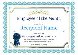 vintage3-blue_employee-rosette Image