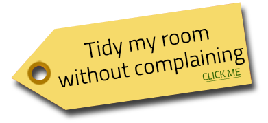 tidy room tag Image