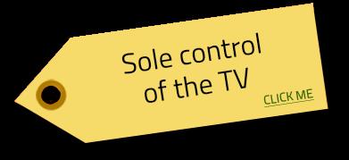 tv control tag Image